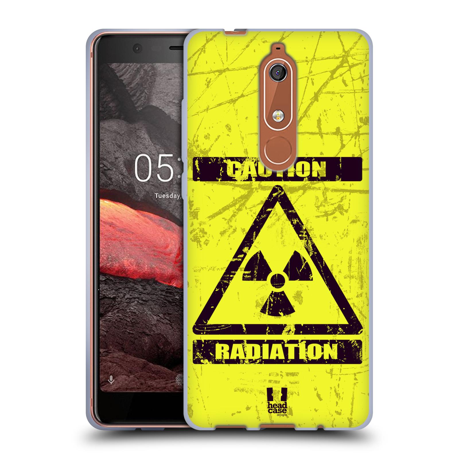 Silikonové pouzdro na mobil Nokia 5.1 - Head Case - RADIACE