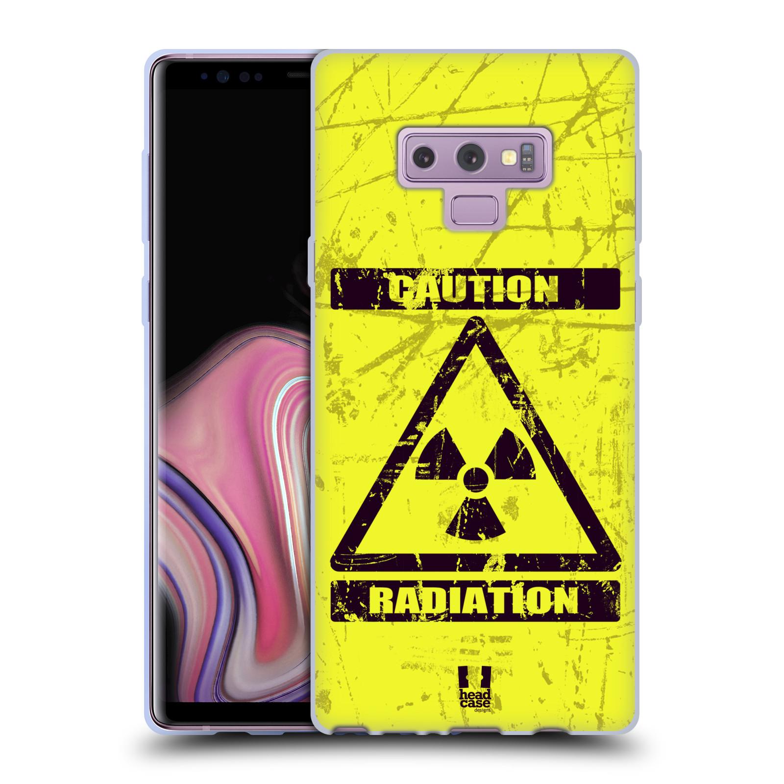 Silikonové pouzdro na mobil Samsung Galaxy Note 9 - Head Case - RADIACE