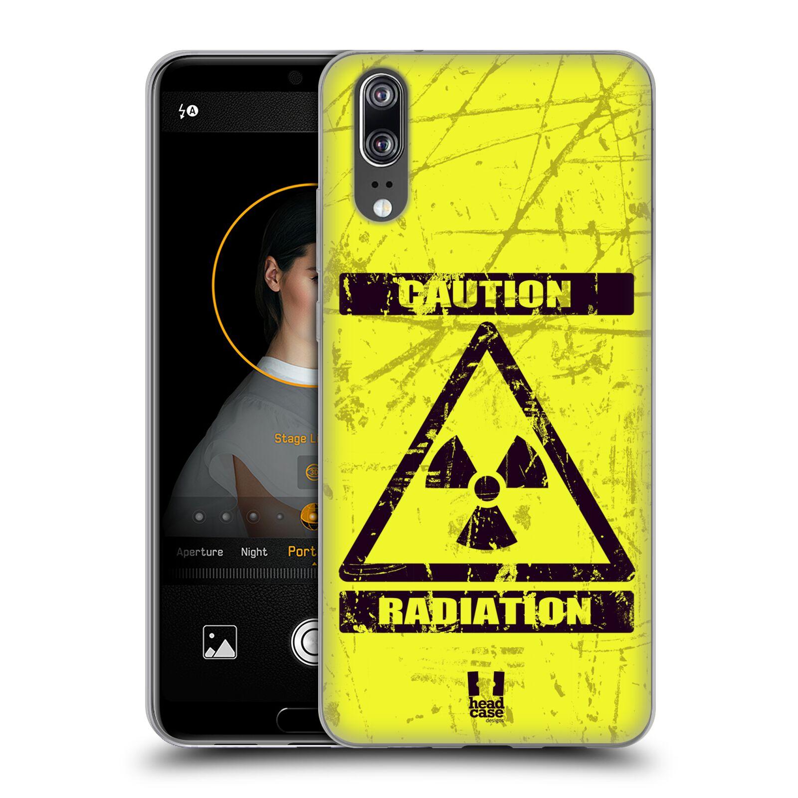 Silikonové pouzdro na mobil Huawei P20 - Head Case - RADIACE