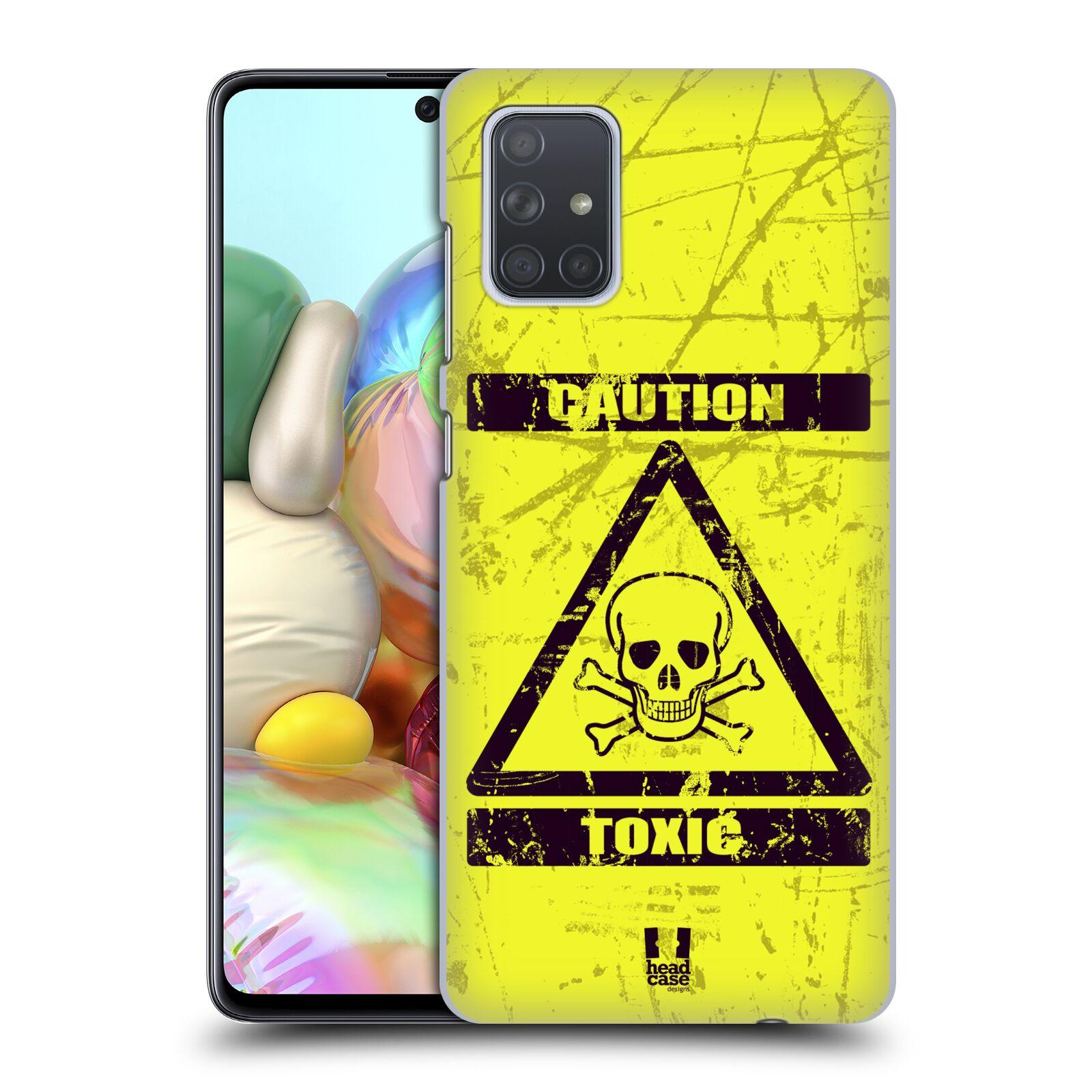 Plastové pouzdro na mobil Samsung Galaxy A71 - Head Case - TOXIC