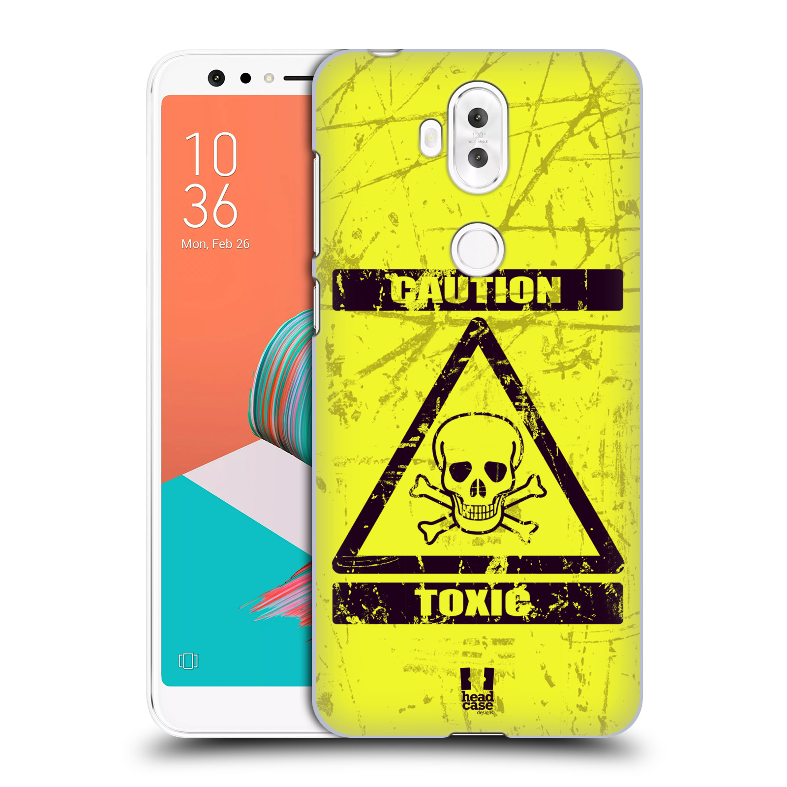 Plastové pouzdro na mobil Asus ZenFone 5 Lite ZC600KL - Head Case - TOXIC (Plastový kryt či obal na mobilní telefon Asus ZenFone 5 Lite (ZC600KL) s motivem TOXIC)