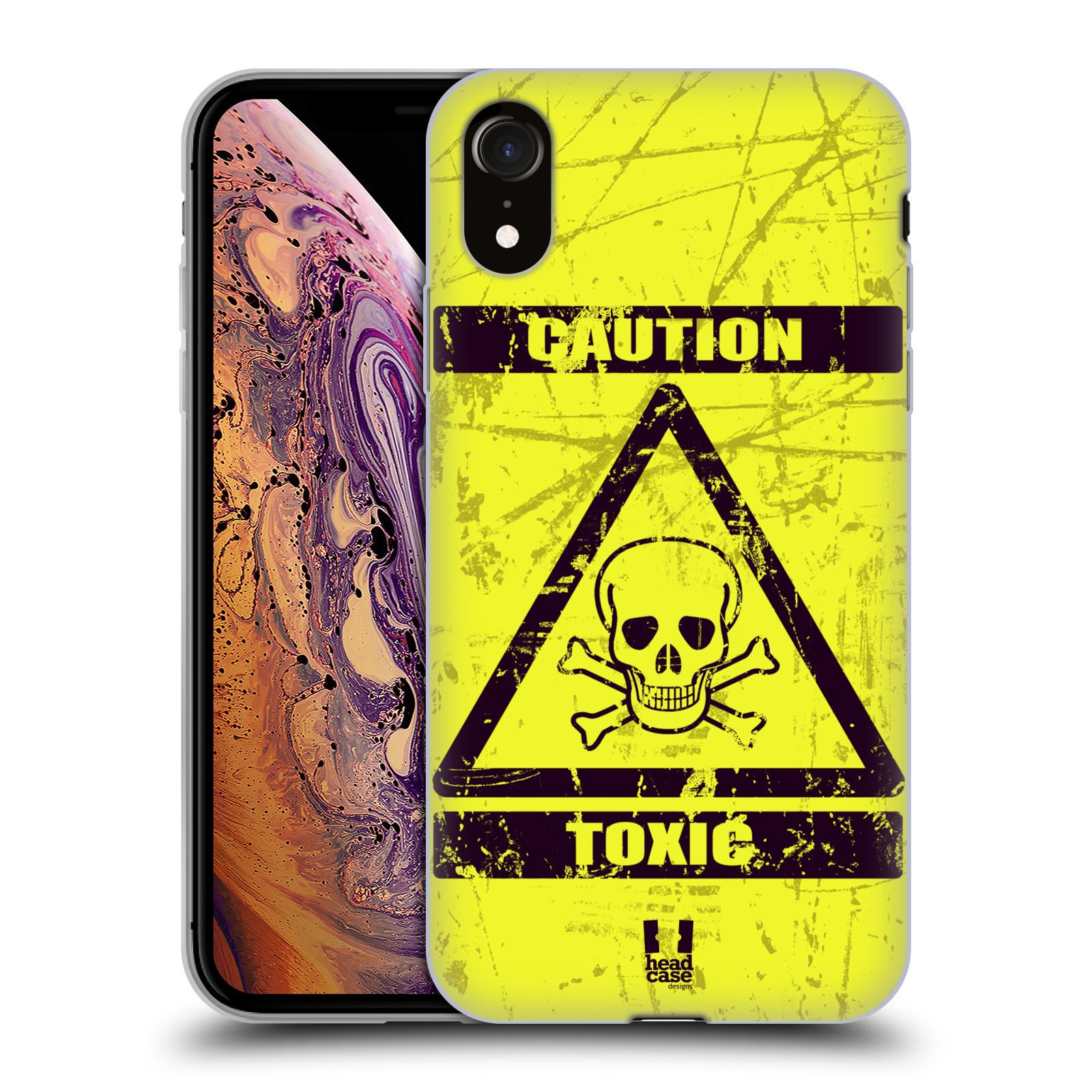 Silikonové pouzdro na mobil Apple iPhone XR - Head Case - TOXIC
