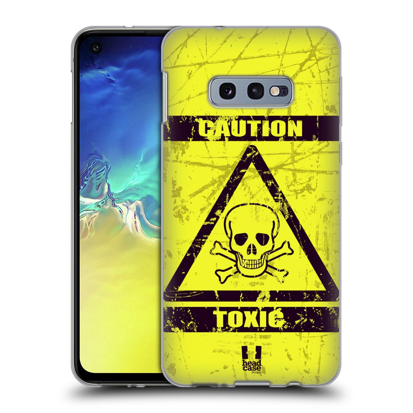 Silikonové pouzdro na mobil Samsung Galaxy S10e - Head Case - TOXIC