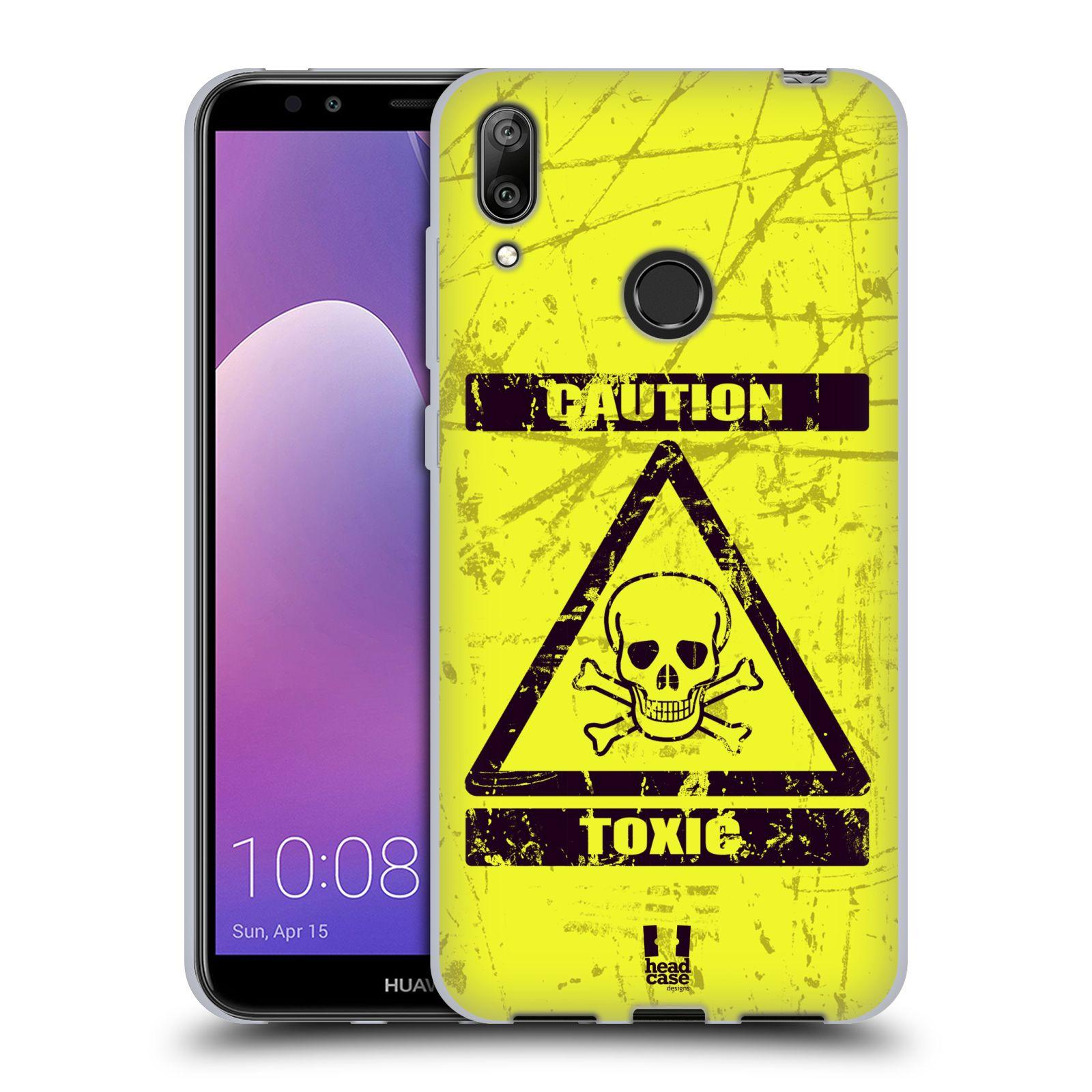 Silikonové pouzdro na mobil Huawei Y7 (2019) - Head Case - TOXIC