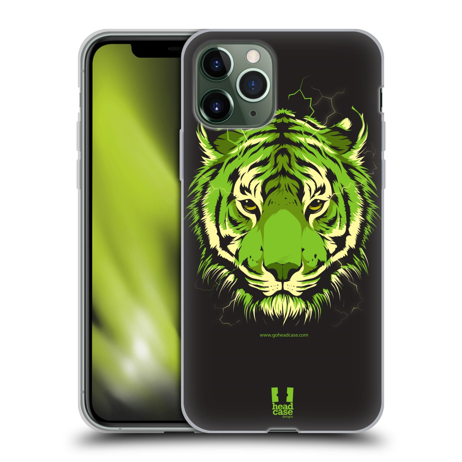 gucci phone case iphone 8 amazon - Silikonové pouzdro na mobil Apple iPhone 11 Pro - Head Case - BENGÁLSKÝ TYGR