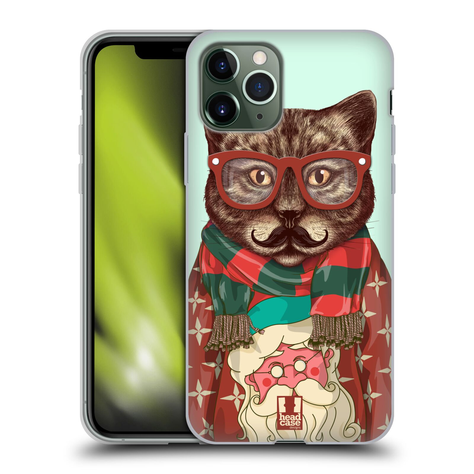 gucci phone case iphone x blind for love , Silikonové pouzdro na mobil Apple iPhone 11 Pro - Head Case - HIPSTR SVETR KOČKA