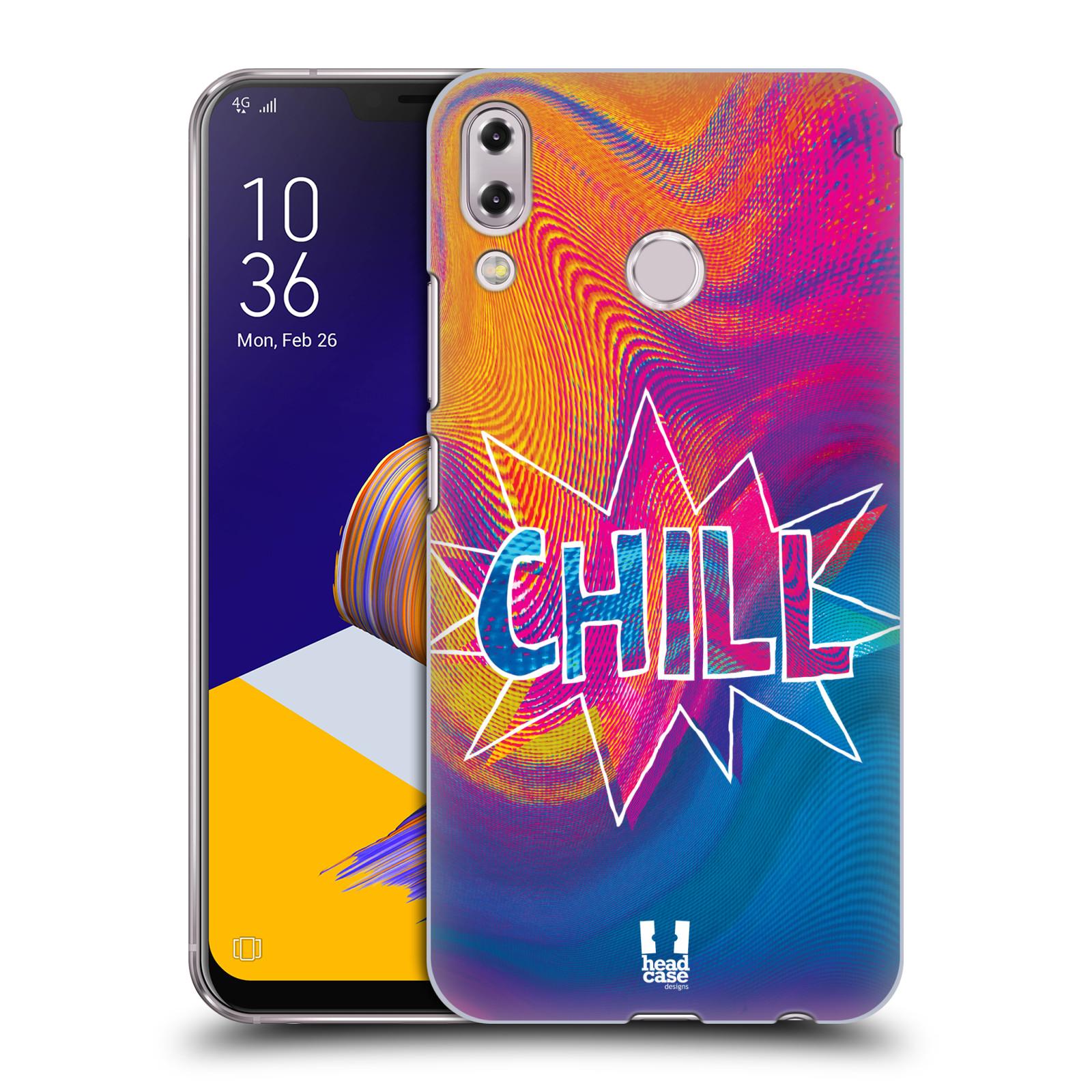 Plastové pouzdro na mobil Asus Zenfone 5z ZS620KL - Head Case - HOLOGRAF CHILL (Plastový kryt či obal na mobilní telefon Asus Zenfone 5z (ZS620KL) s motivem HOLOGRAF CHILL)
