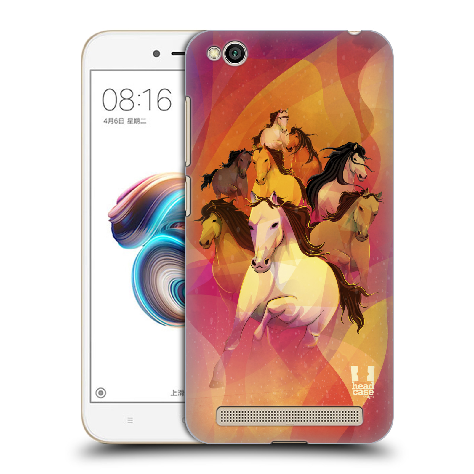 Plastové pouzdro na mobil Xiaomi Redmi 5A - Head Case - OSM KONÍKŮ