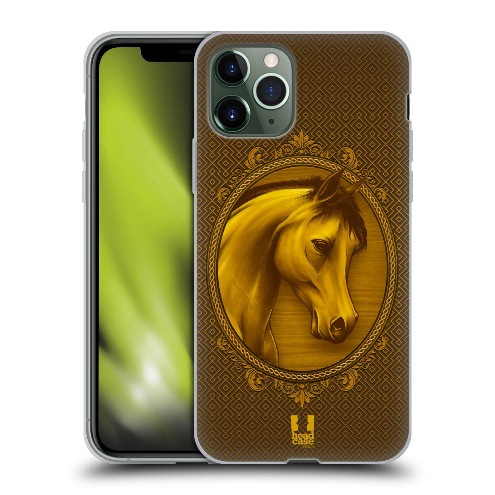 levně obaly iphone x - Silikonové pouzdro na mobil Apple iPhone 11 Pro - Head Case - KRÁLOVSKÝ KONÍK