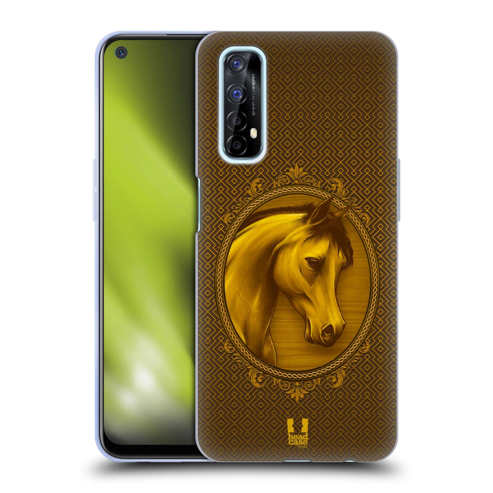 Silikonové pouzdro na mobil Realme 7 - Head Case - KRÁLOVSKÝ KONÍK