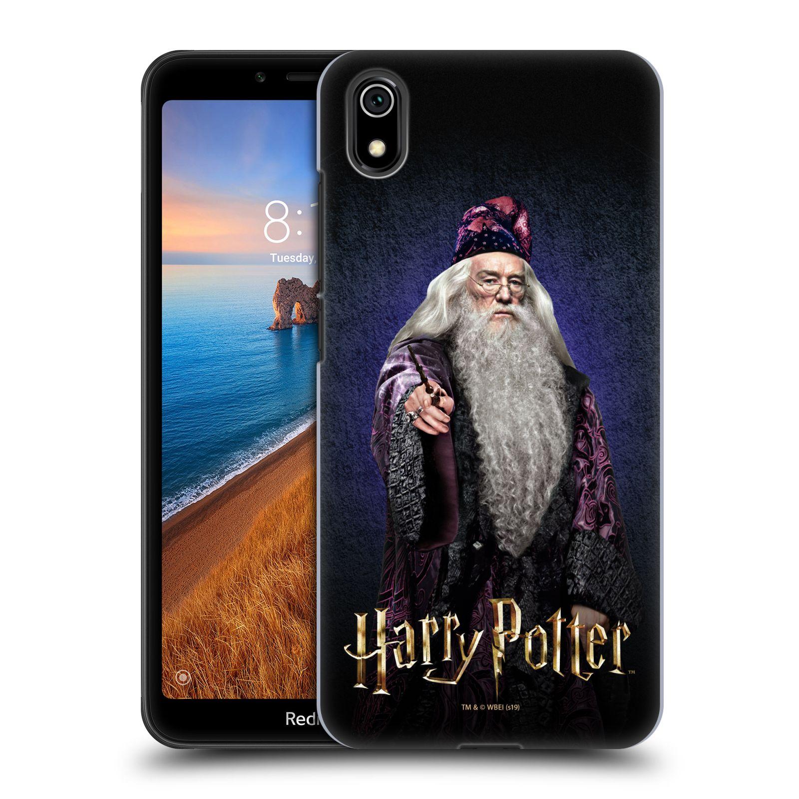 Plastové pouzdro na mobil Xiaomi Redmi 7A - Harry Potter - Albus Brumbál