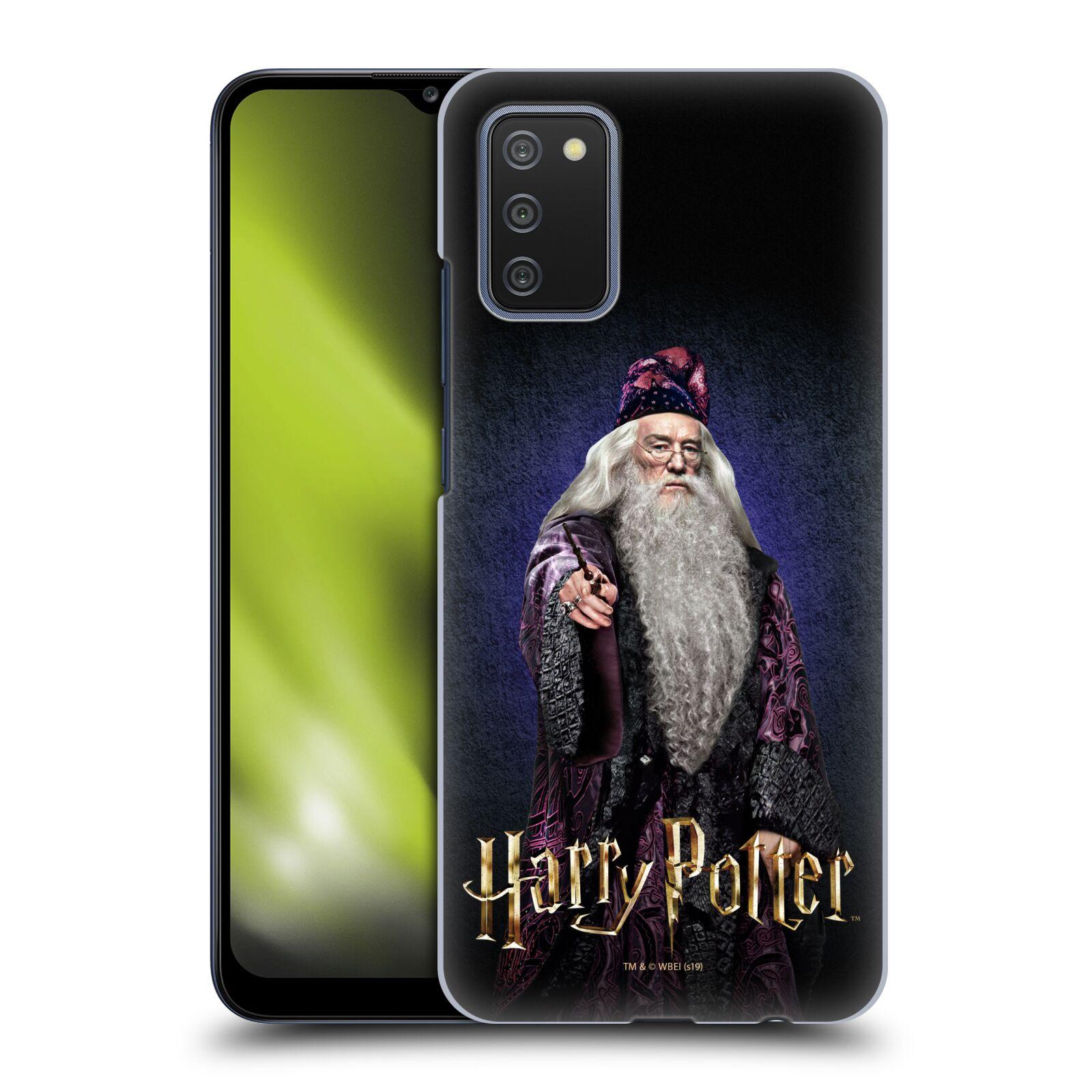 Plastové pouzdro na mobil Samsung Galaxy A02s - Harry Potter - Albus Brumbál