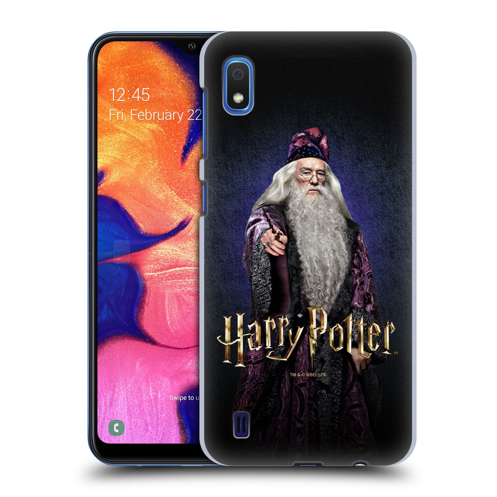 Plastové pouzdro na mobil Samsung Galaxy A10 - Harry Potter - Albus Brumbál