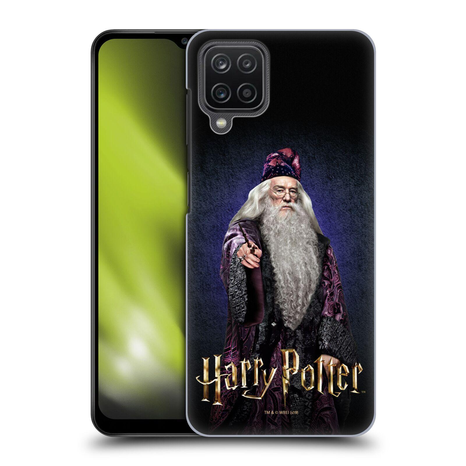 Plastové pouzdro na mobil Samsung Galaxy A12 - Harry Potter - Albus Brumbál