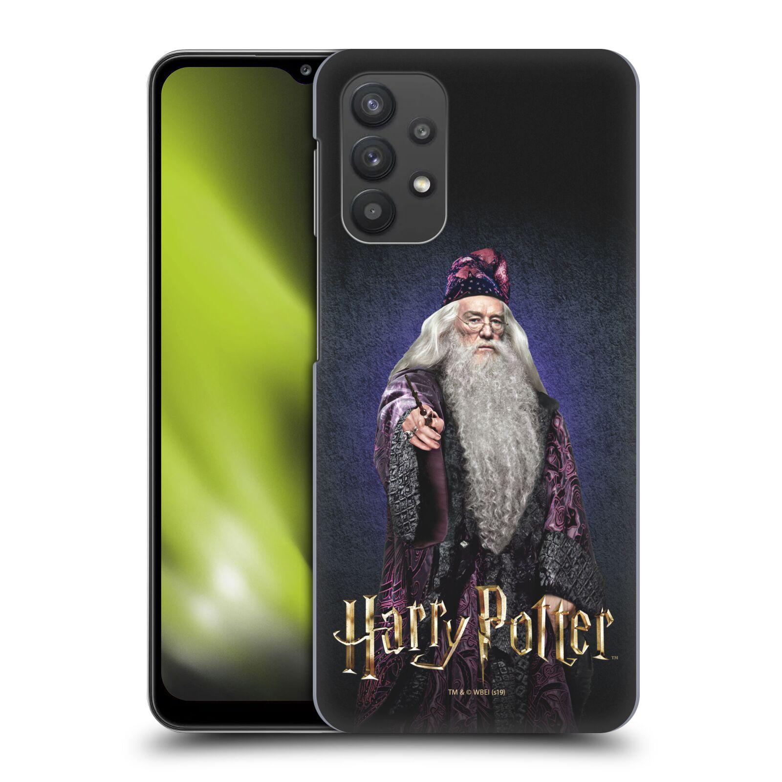 Plastové pouzdro na mobil Samsung Galaxy A32 5G - Harry Potter - Albus Brumbál