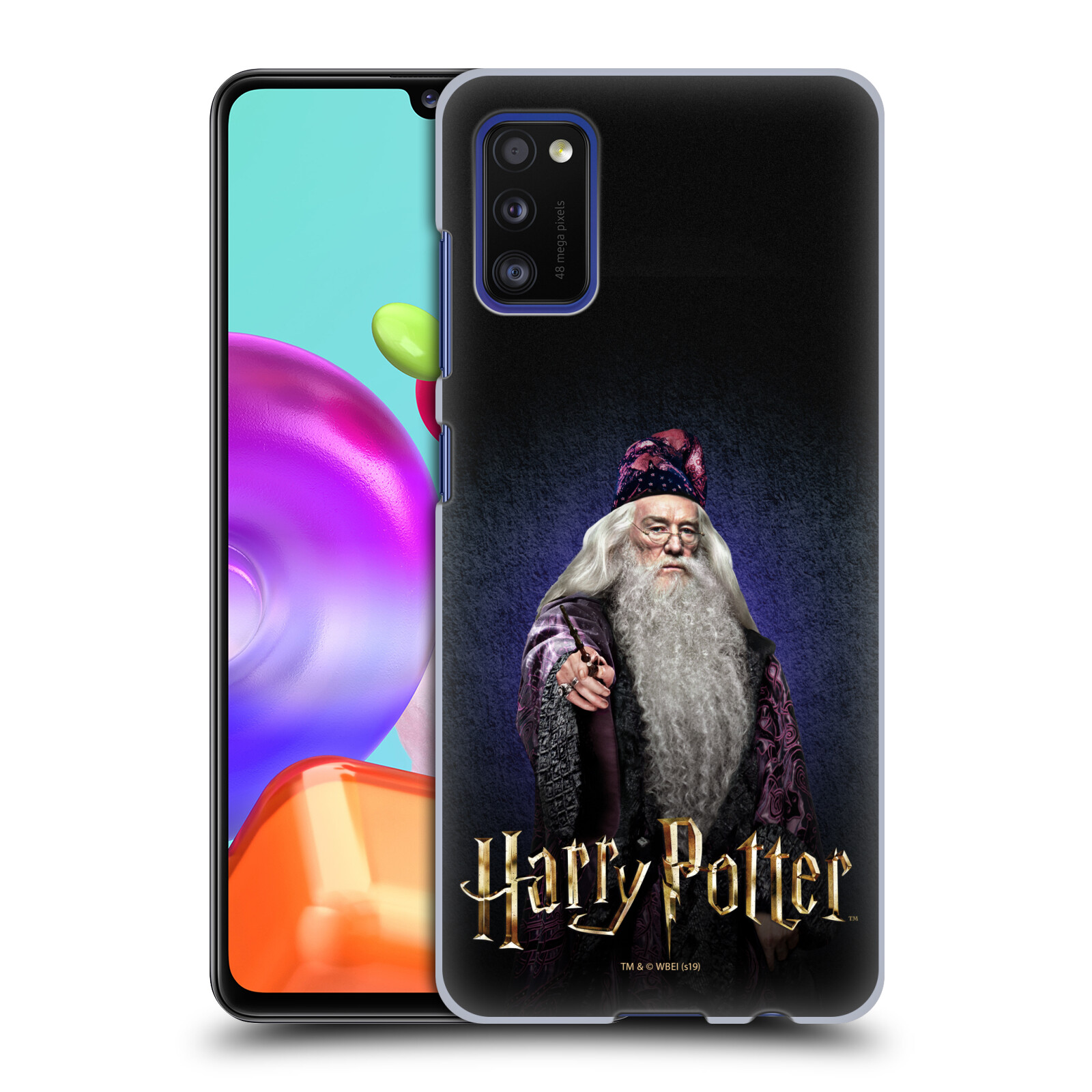 Plastové pouzdro na mobil Samsung Galaxy A41 - Harry Potter - Albus Brumbál