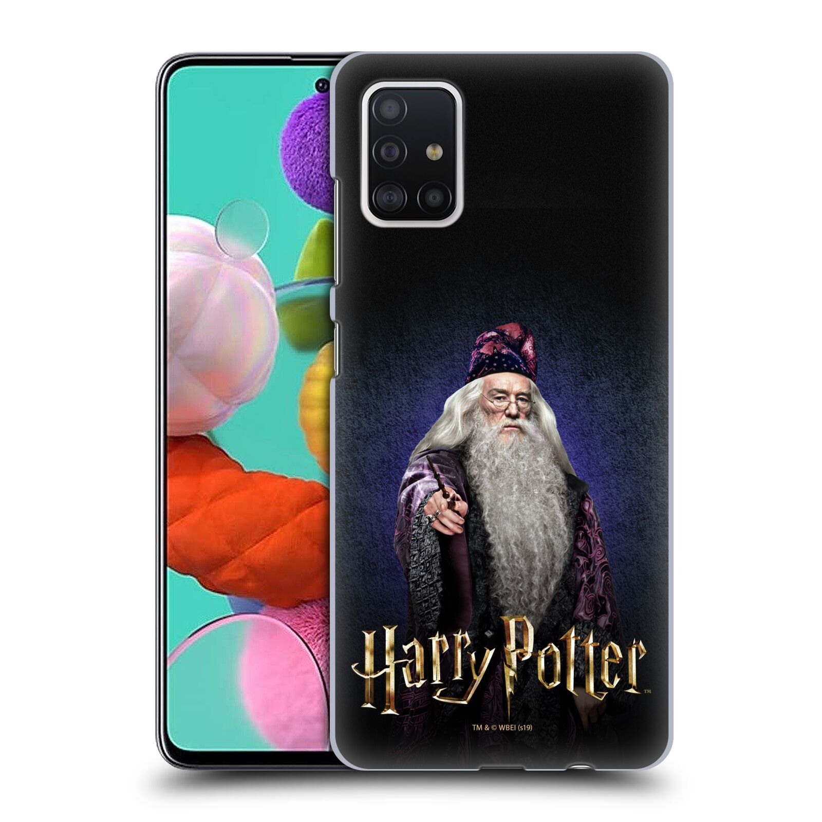 Plastové pouzdro na mobil Samsung Galaxy A51 - Harry Potter - Albus Brumbál