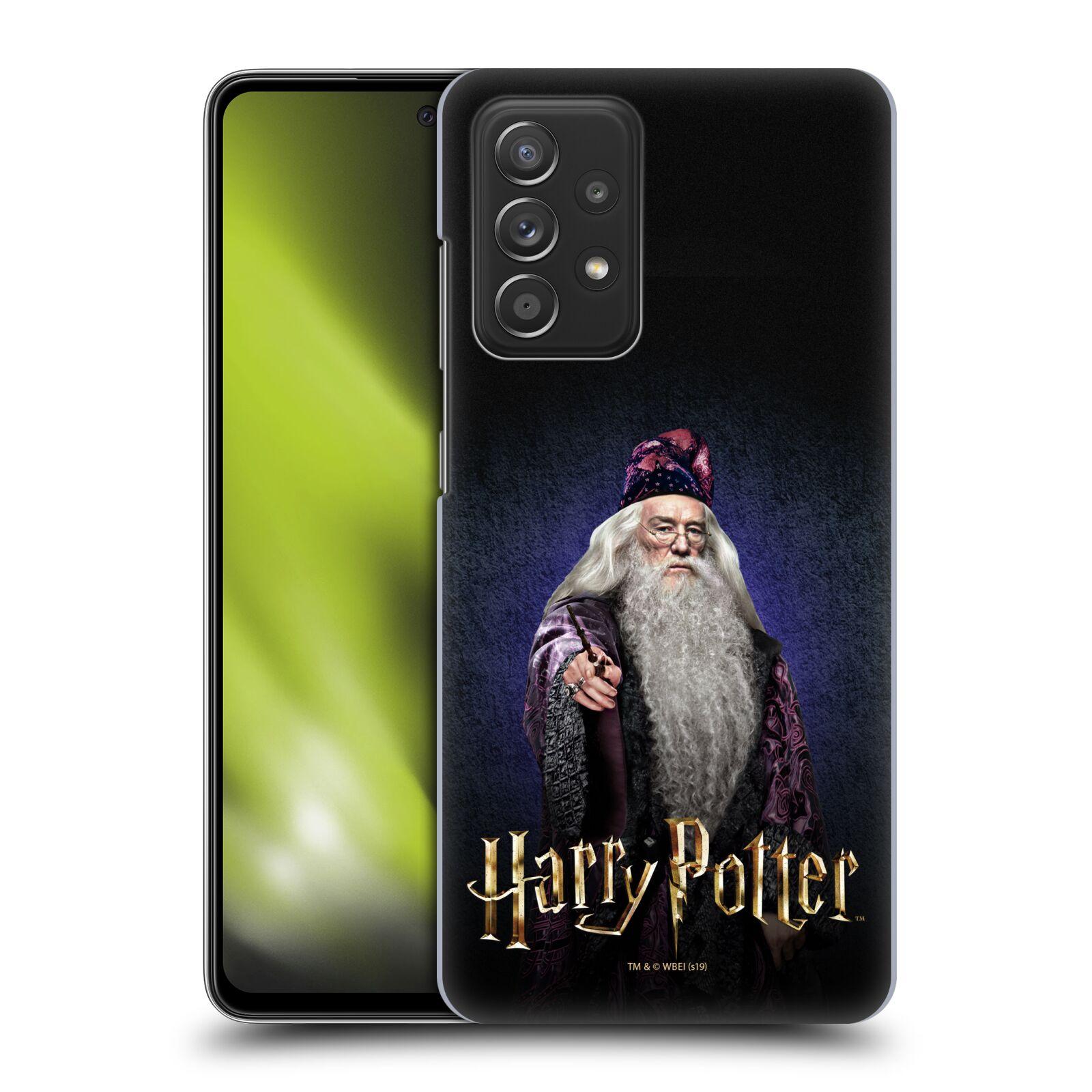 Plastové pouzdro na mobil Samsung Galaxy A52 / A52 5G / A52s 5G - Harry Potter - Albus Brumbál
