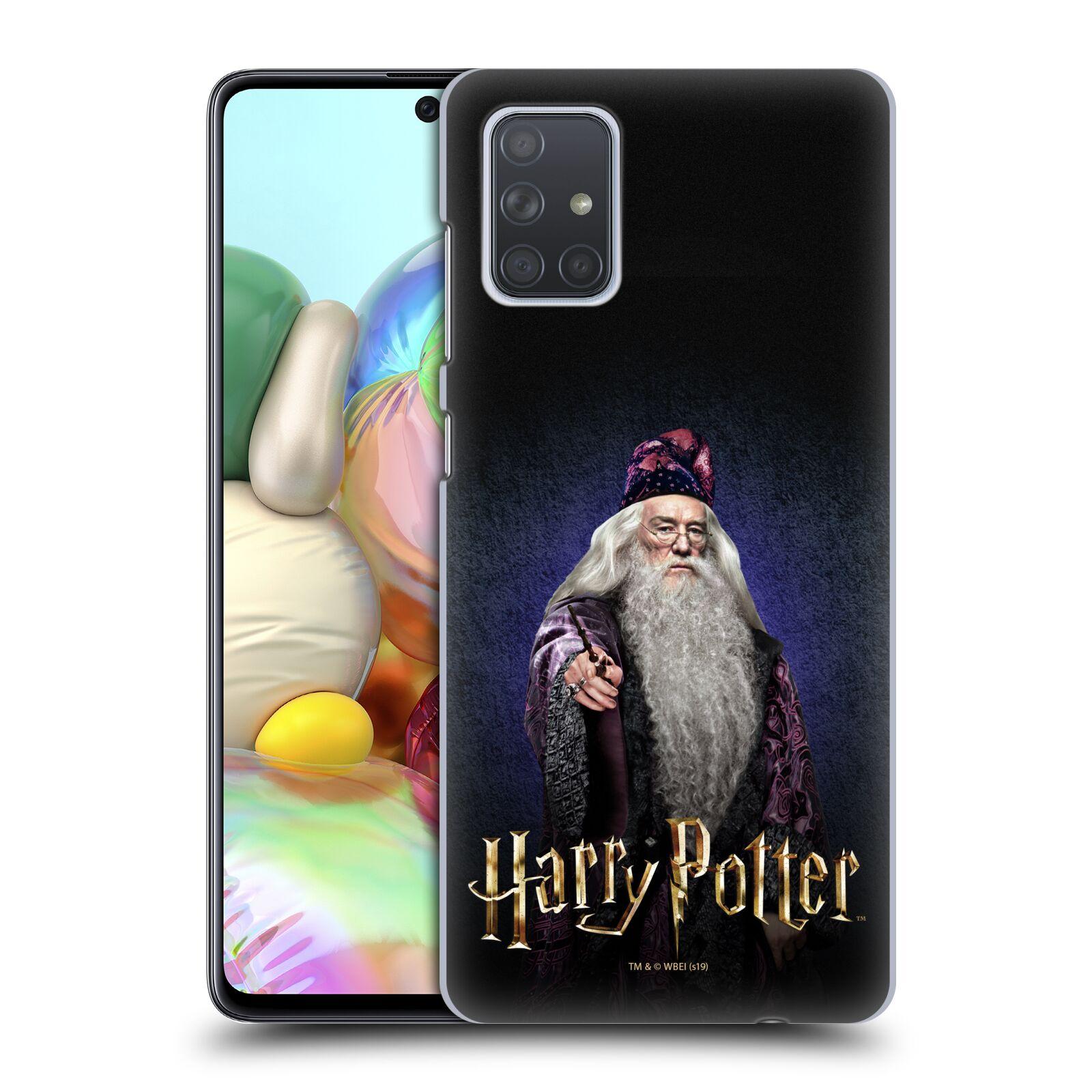 Plastové pouzdro na mobil Samsung Galaxy A71 - Harry Potter - Albus Brumbál