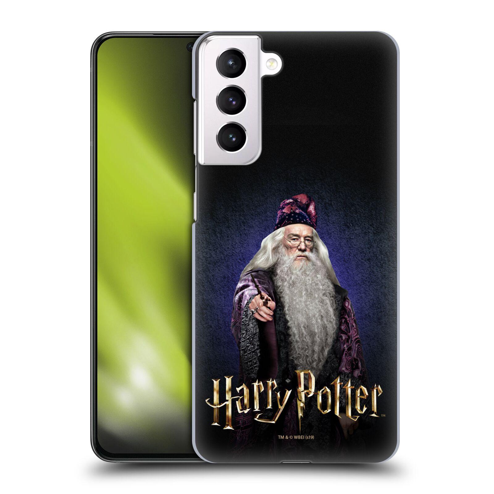 Plastové pouzdro na mobil Samsung Galaxy S21 Plus 5G - Harry Potter - Albus Brumbál