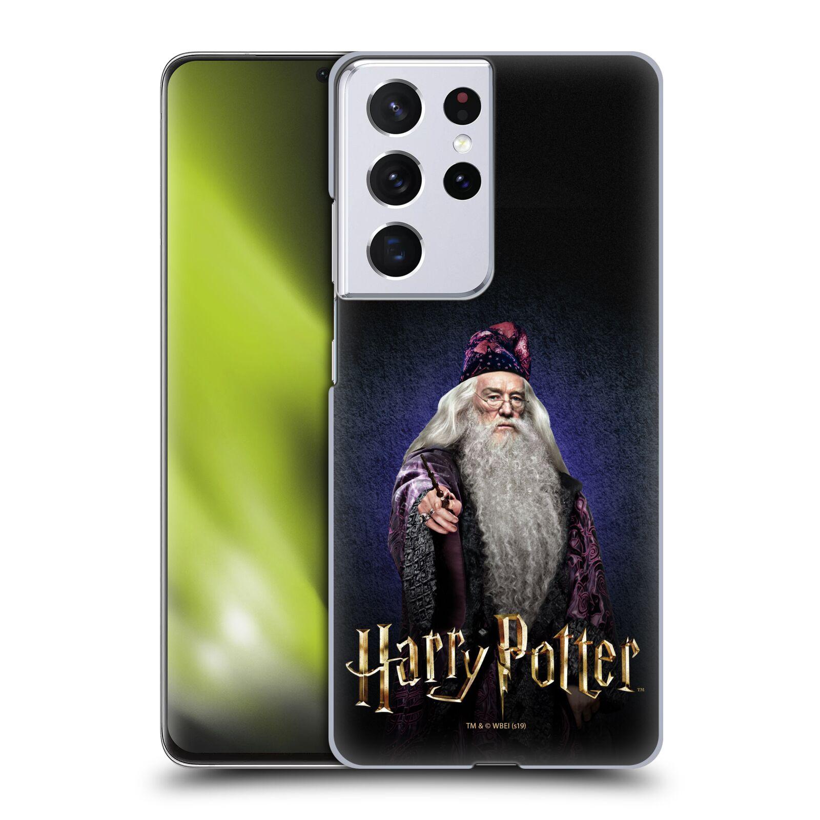 Plastové pouzdro na mobil Samsung Galaxy S21 Ultra 5G - Harry Potter - Albus Brumbál