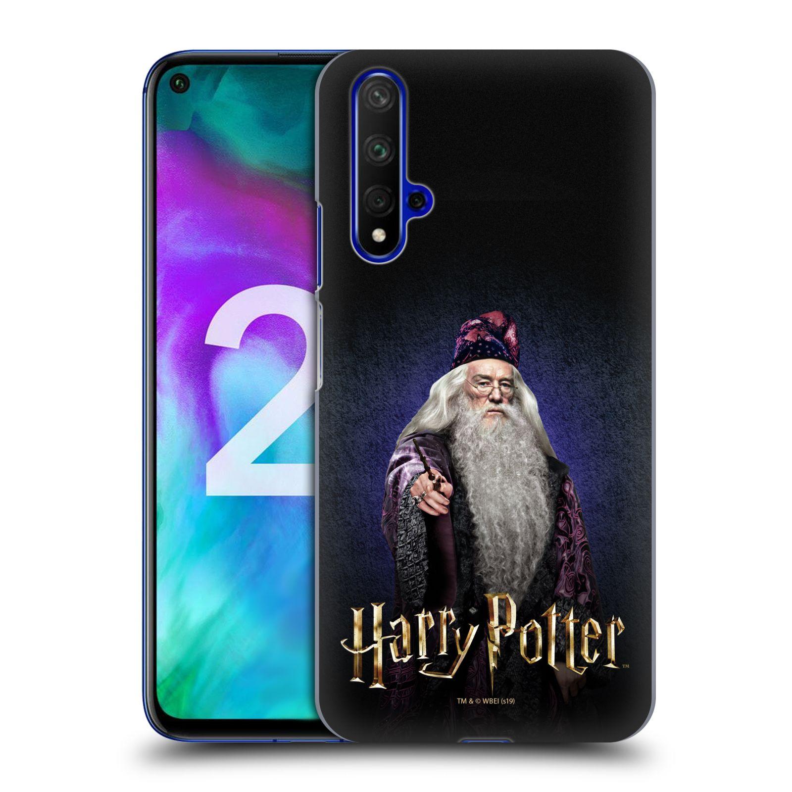 Plastové pouzdro na mobil Honor 20 - Harry Potter - Albus Brumbál