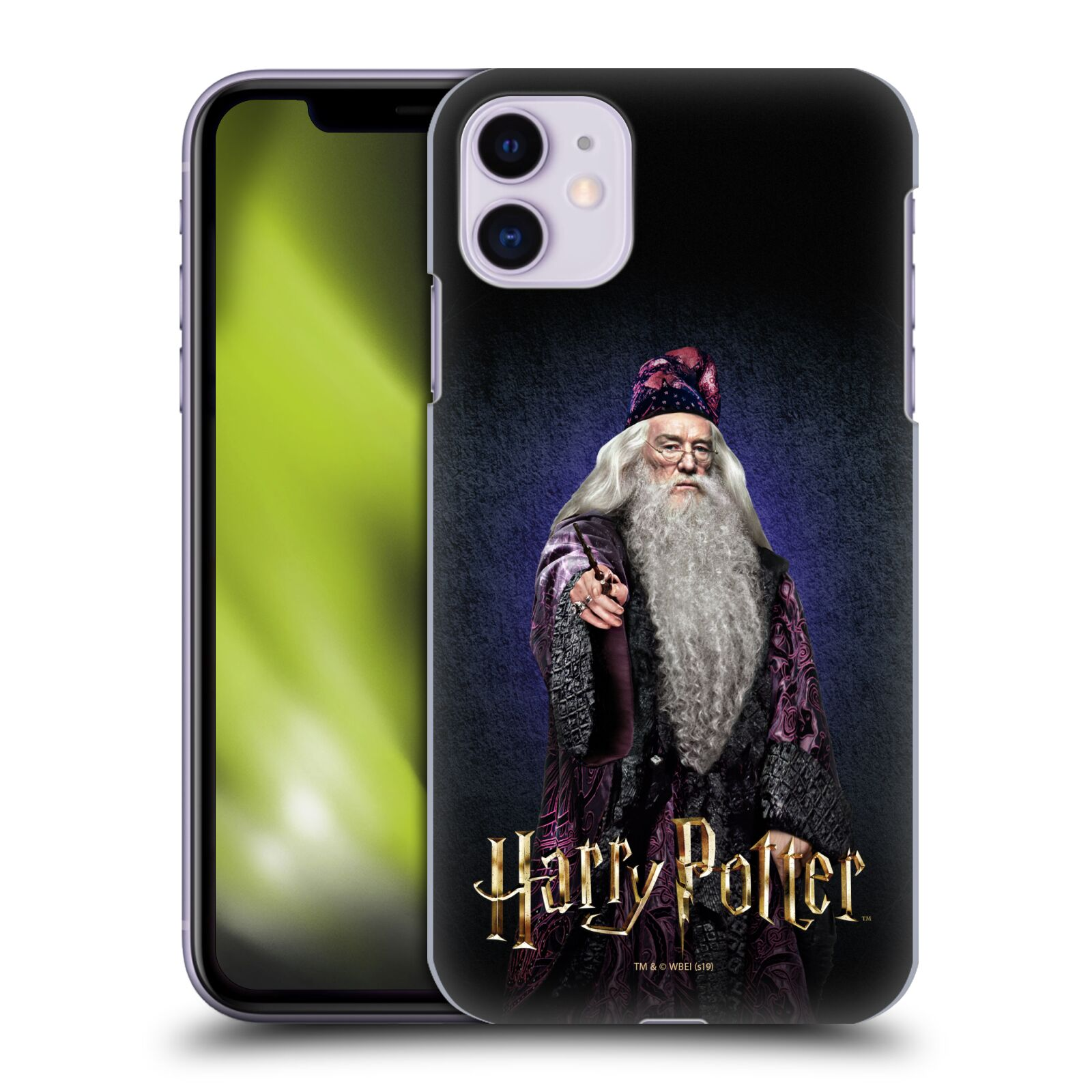 Plastové pouzdro na mobil Apple iPhone 11 - Harry Potter - Albus Brumbál