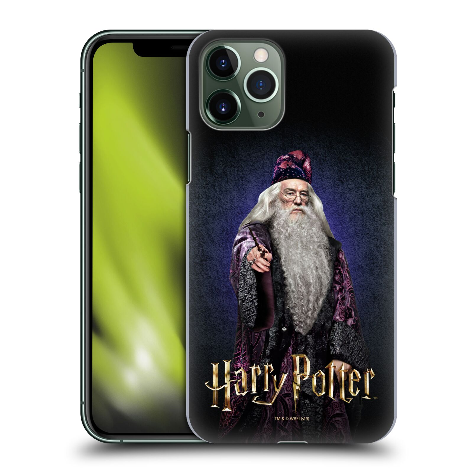 Plastové pouzdro na mobil Apple iPhone 11 Pro - Harry Potter - Albus Brumbál