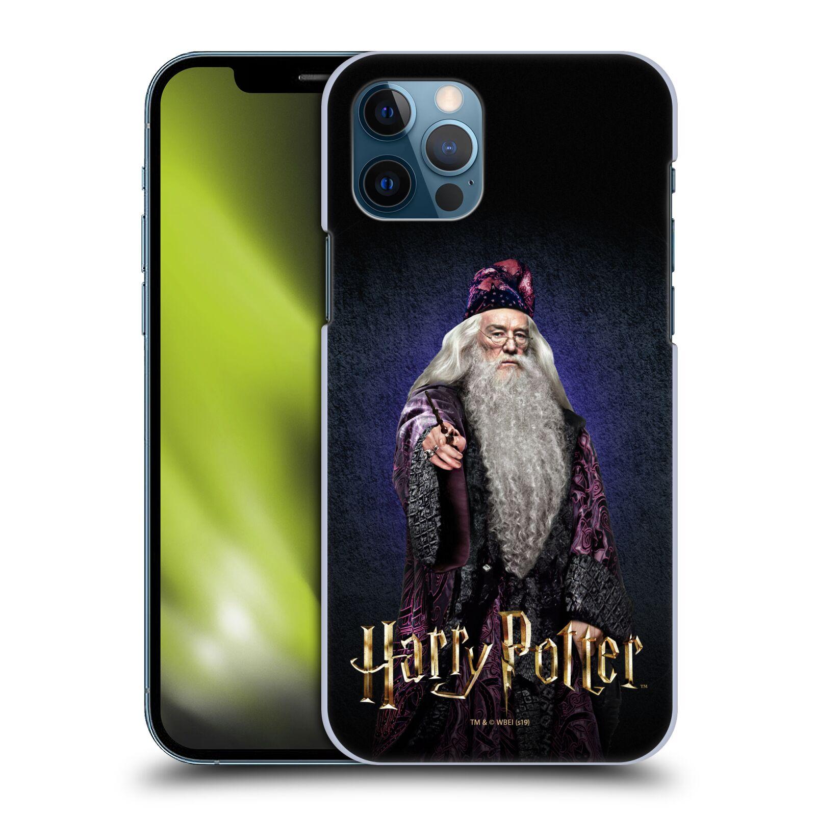 Plastové pouzdro na mobil Apple iPhone 12 / 12 Pro - Harry Potter - Albus Brumbál