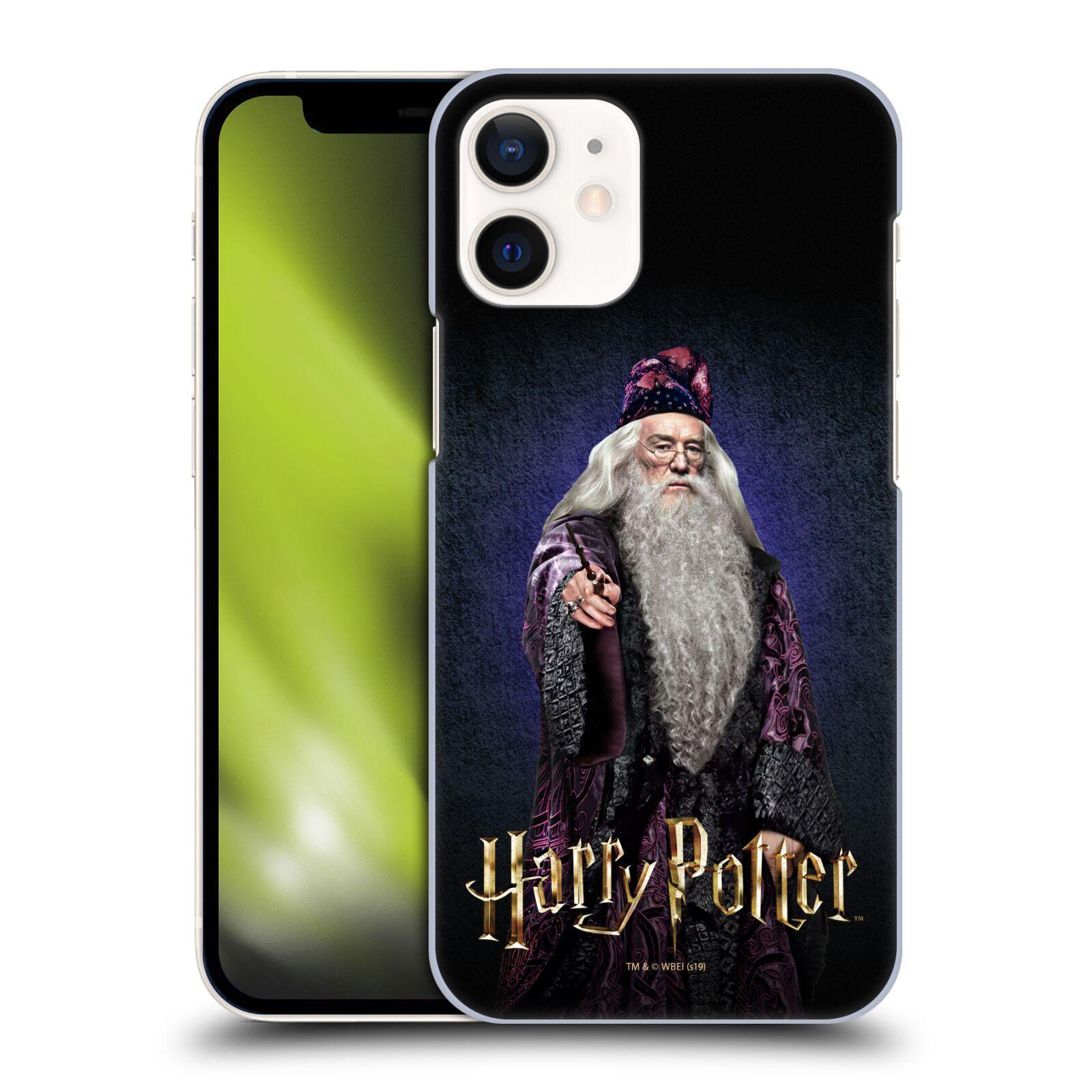 Plastové pouzdro na mobil Apple iPhone 12 Mini - Harry Potter - Albus Brumbál