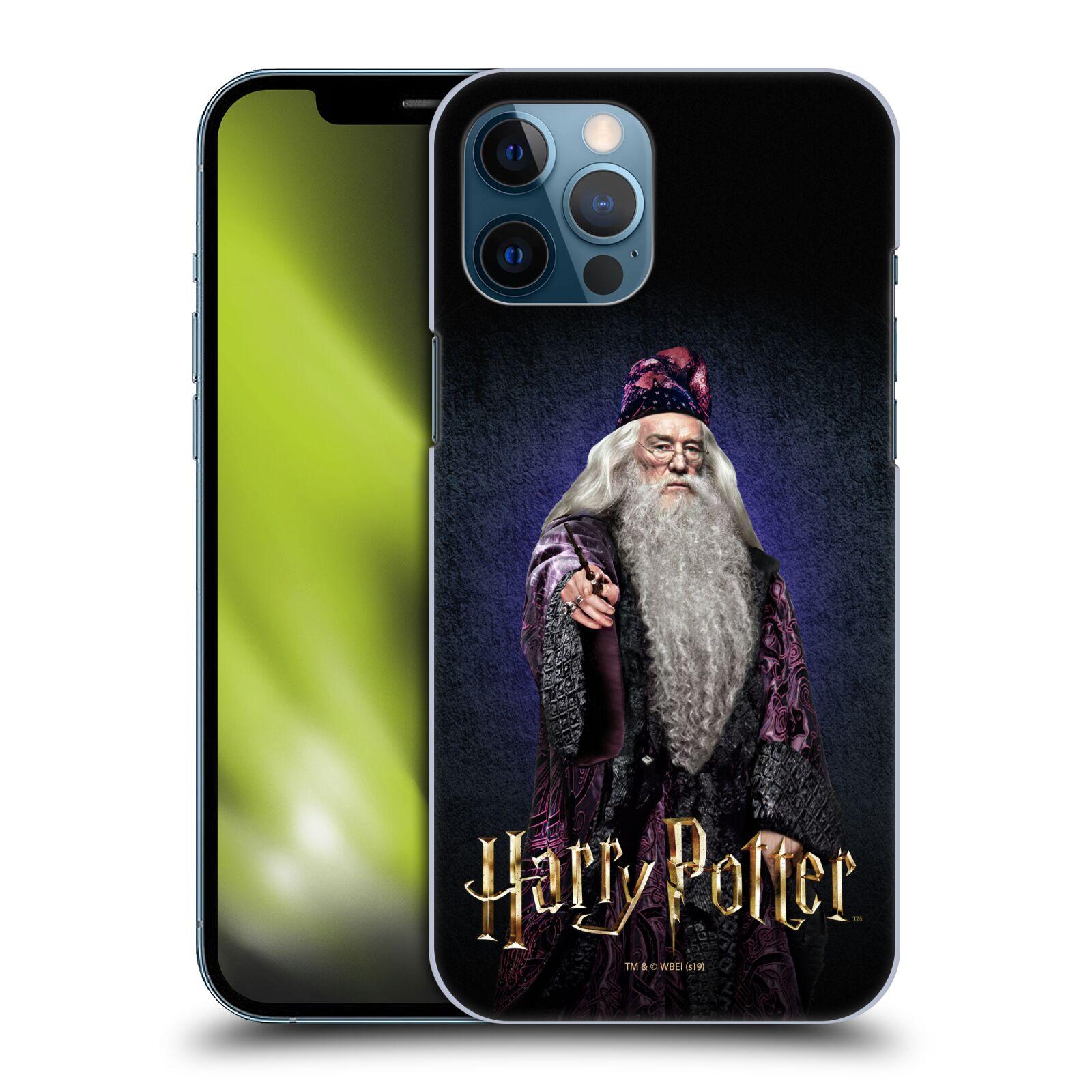 Plastové pouzdro na mobil Apple iPhone 12 Pro Max - Harry Potter - Albus Brumbál