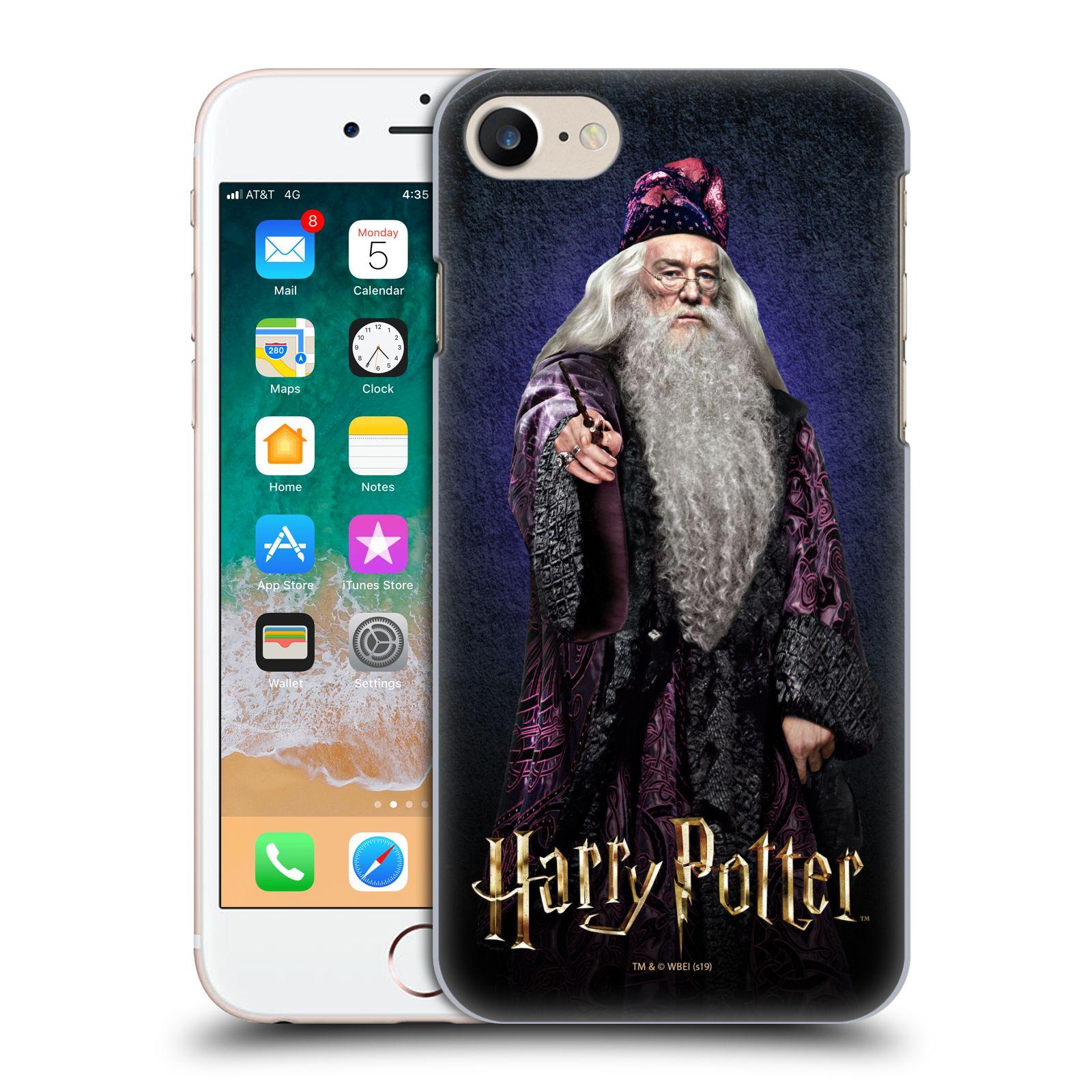 Plastové pouzdro na mobil Apple iPhone SE (2020) - Harry Potter - Albus Brumbál