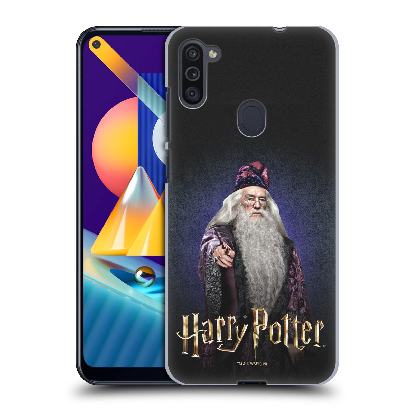 Plastové pouzdro na mobil Samsung Galaxy M11 - Harry Potter - Albus Brumbál