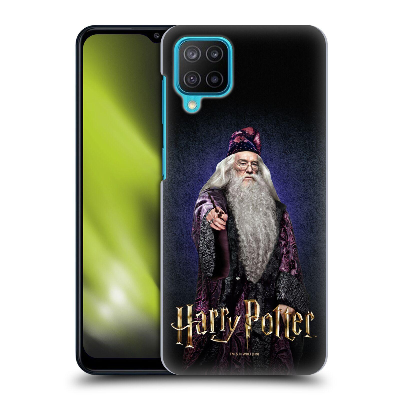 Plastové pouzdro na mobil Samsung Galaxy M12 - Harry Potter - Albus Brumbál