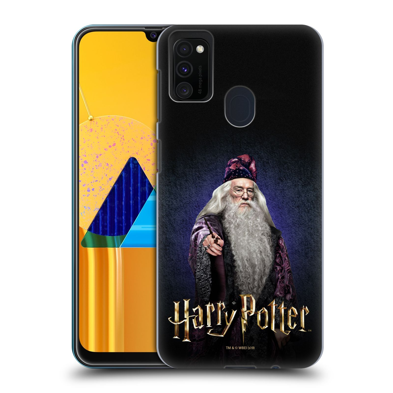 Plastové pouzdro na mobil Samsung Galaxy M21 - Harry Potter - Albus Brumbál