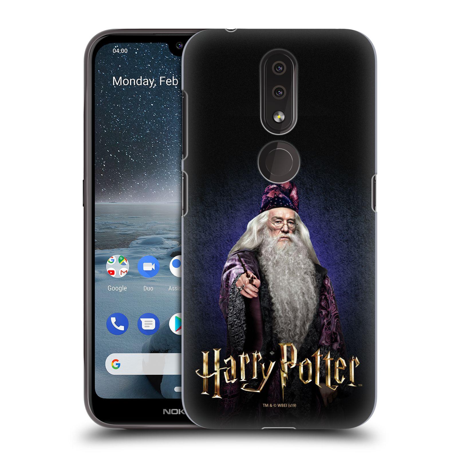 Plastové pouzdro na mobil Nokia 4.2 - Harry Potter - Albus Brumbál