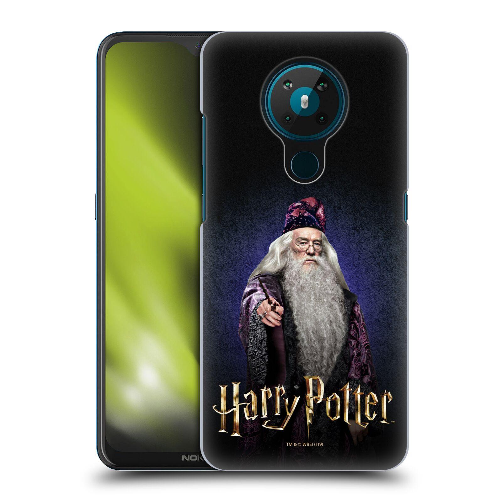 Plastové pouzdro na mobil Nokia 5.3 - Harry Potter - Albus Brumbál