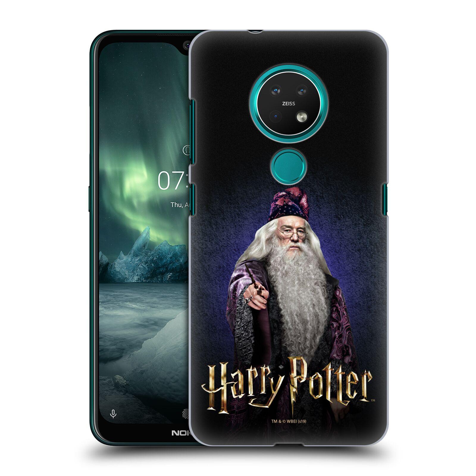 Plastové pouzdro na mobil Nokia 7.2 - Harry Potter - Albus Brumbál