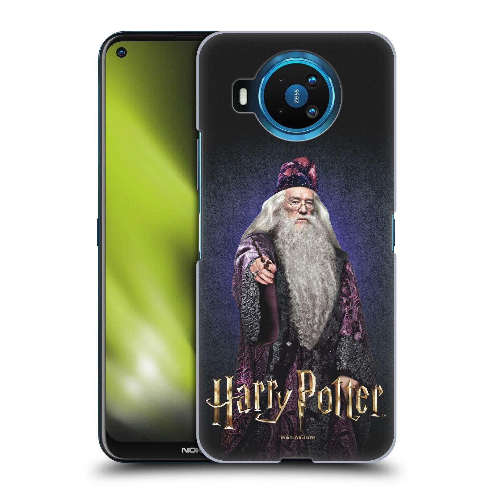 Plastové pouzdro na mobil Nokia 8.3 5G - Harry Potter - Albus Brumbál