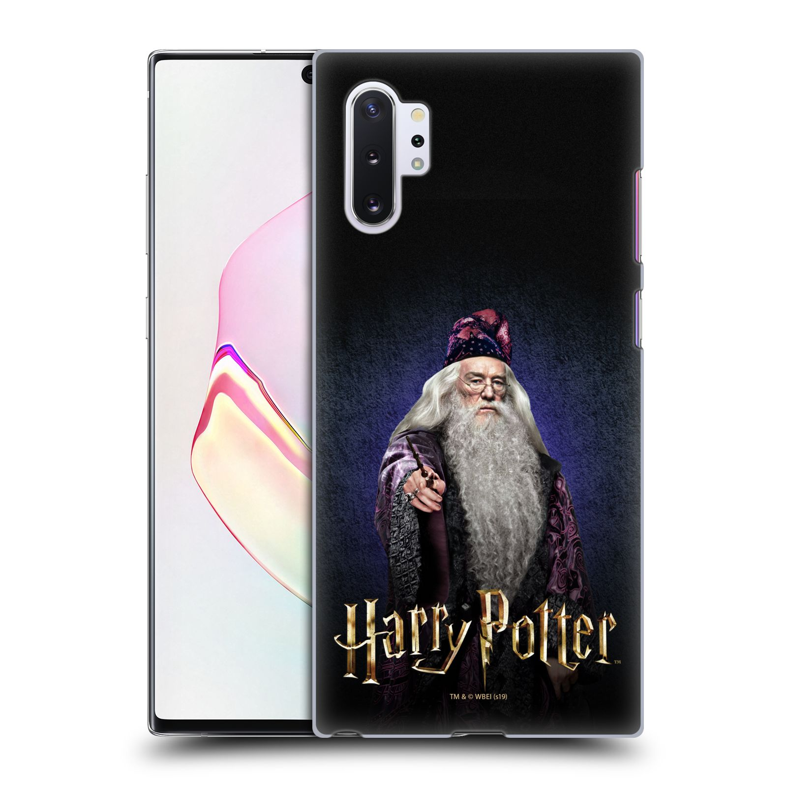 Plastové pouzdro na mobil Samsung Galaxy Note 10 Plus - Harry Potter - Albus Brumbál