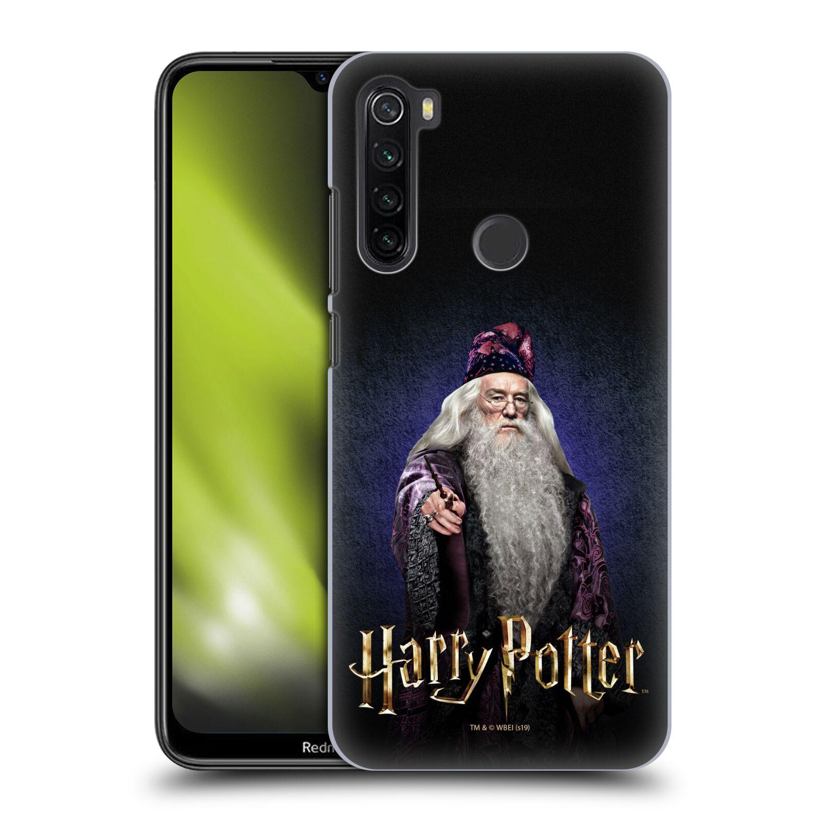 Plastové pouzdro na mobil Xiaomi Redmi Note 8T - Harry Potter - Albus Brumbál