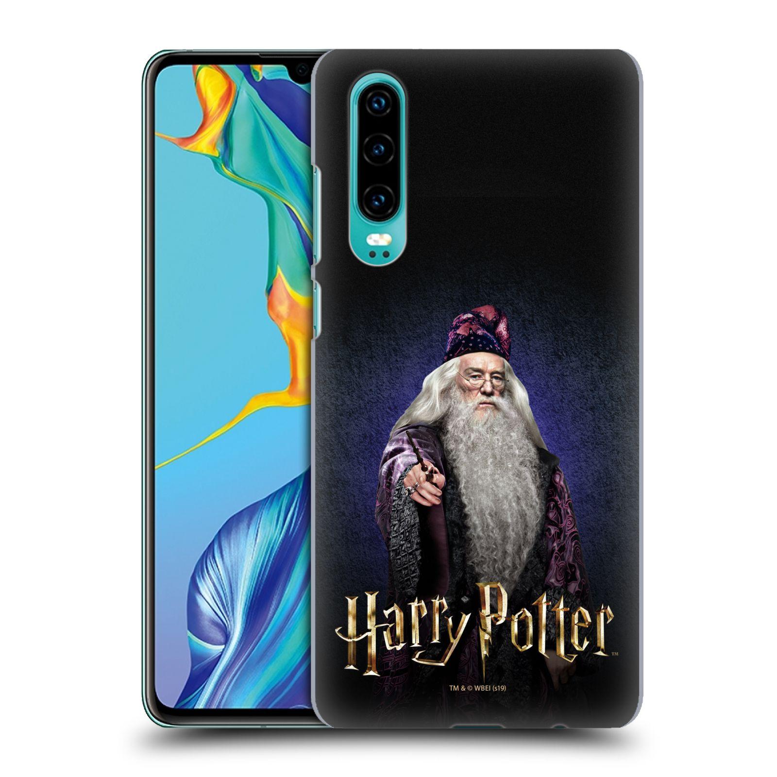 Plastové pouzdro na mobil Huawei P30 - Harry Potter - Albus Brumbál