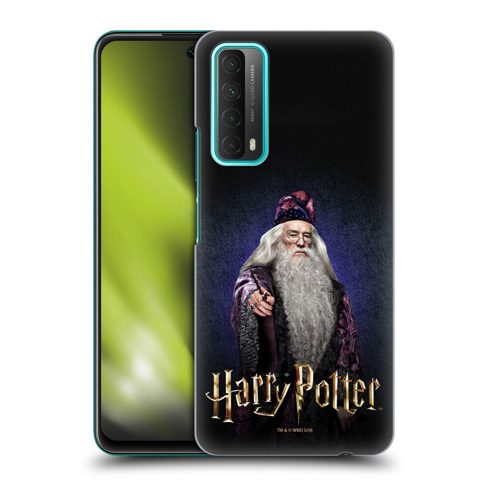 Plastové pouzdro na mobil Huawei P Smart (2021) - Harry Potter - Albus Brumbál