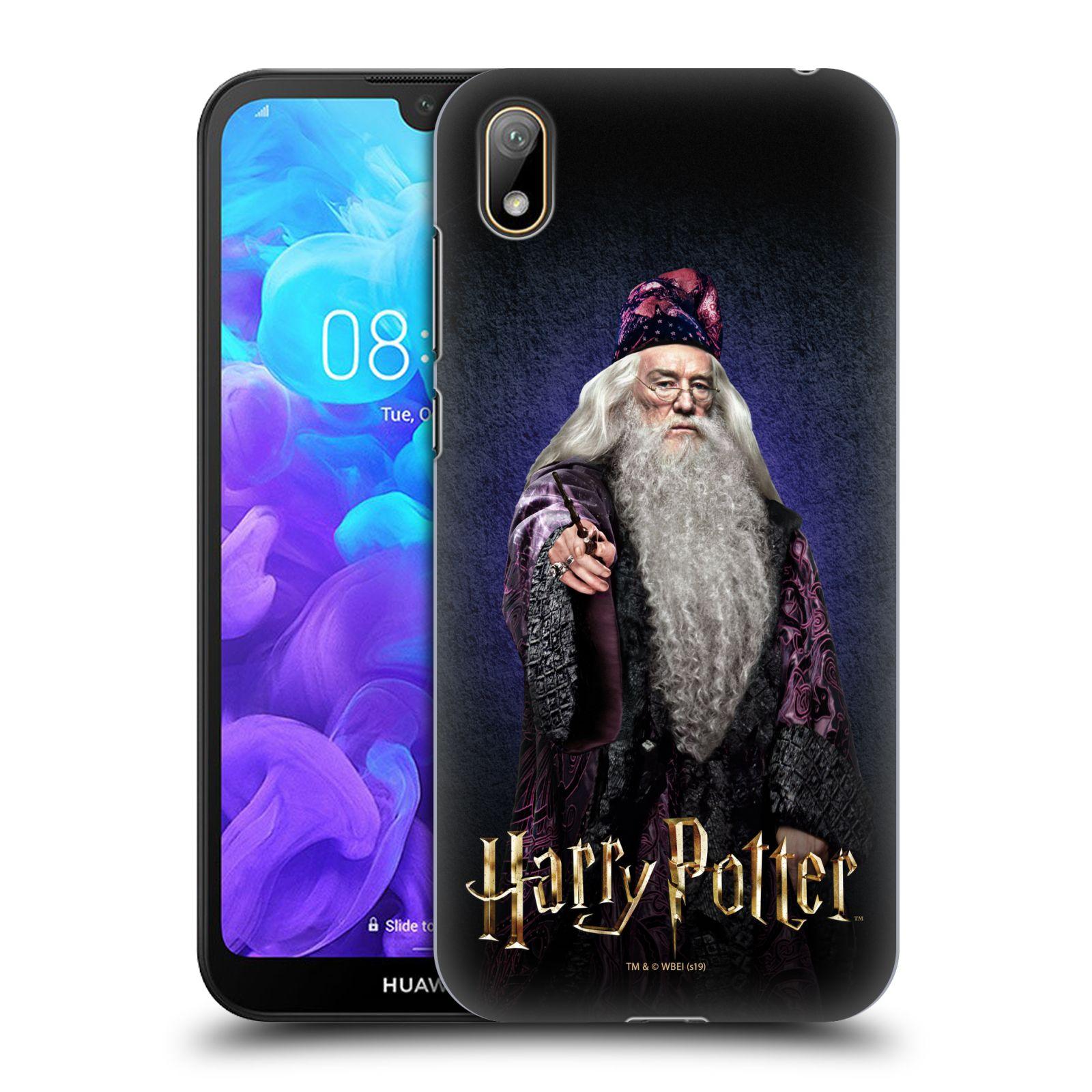 Plastové pouzdro na mobil Honor 8S - Harry Potter - Albus Brumbál