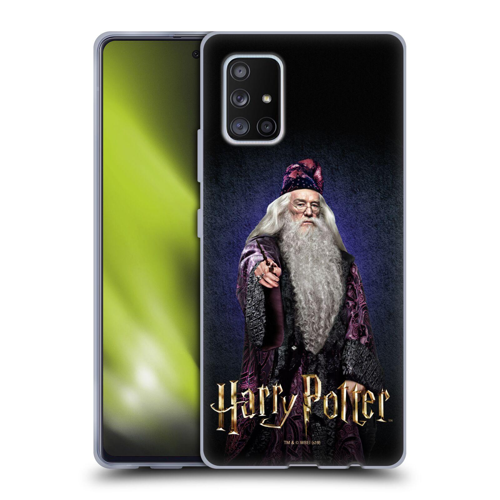 Silikonové pouzdro na mobil Samsung Galaxy A51 5G - Harry Potter - Albus Brumbál
