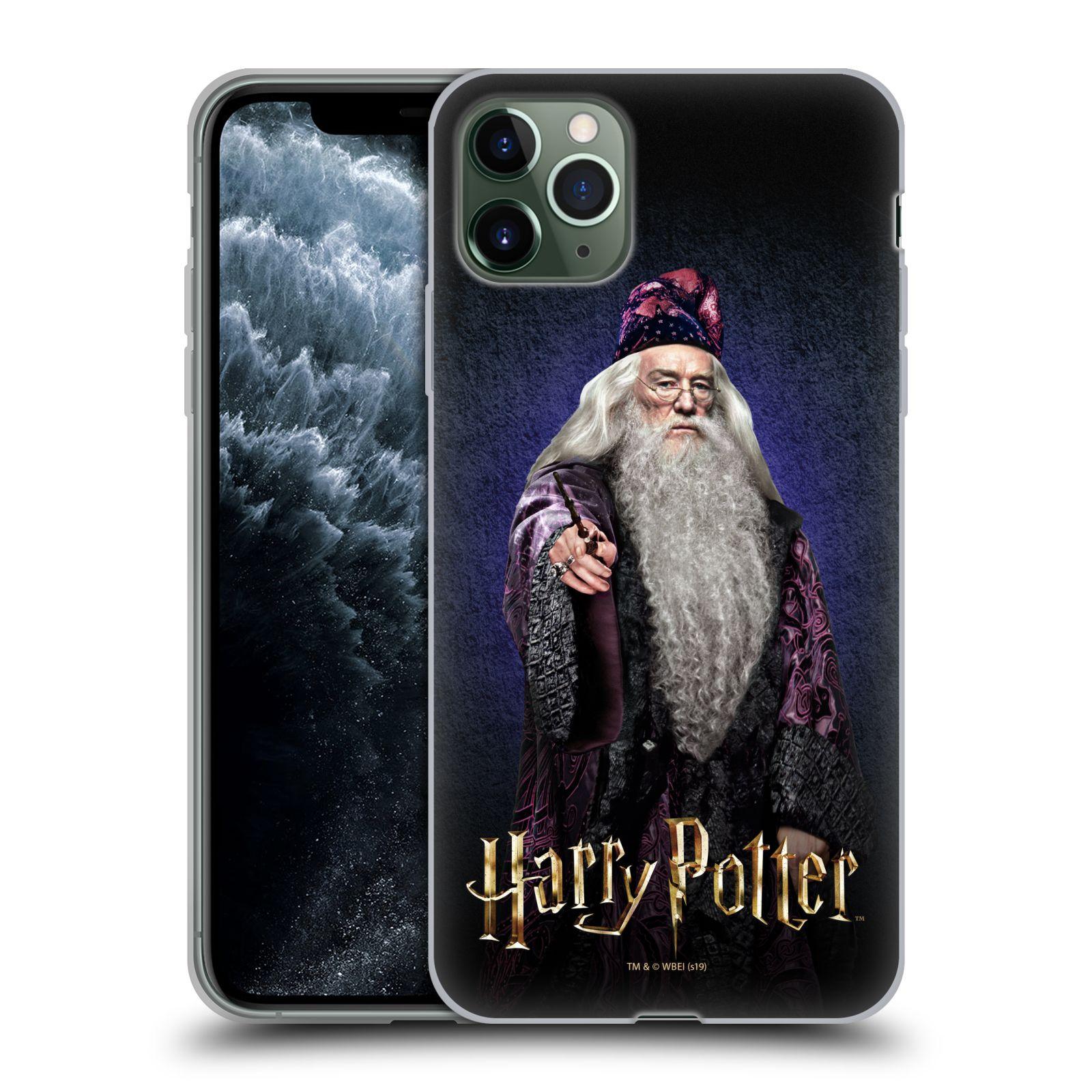 Silikonové pouzdro na mobil Apple iPhone 11 Pro Max - Harry Potter - Albus Brumbál