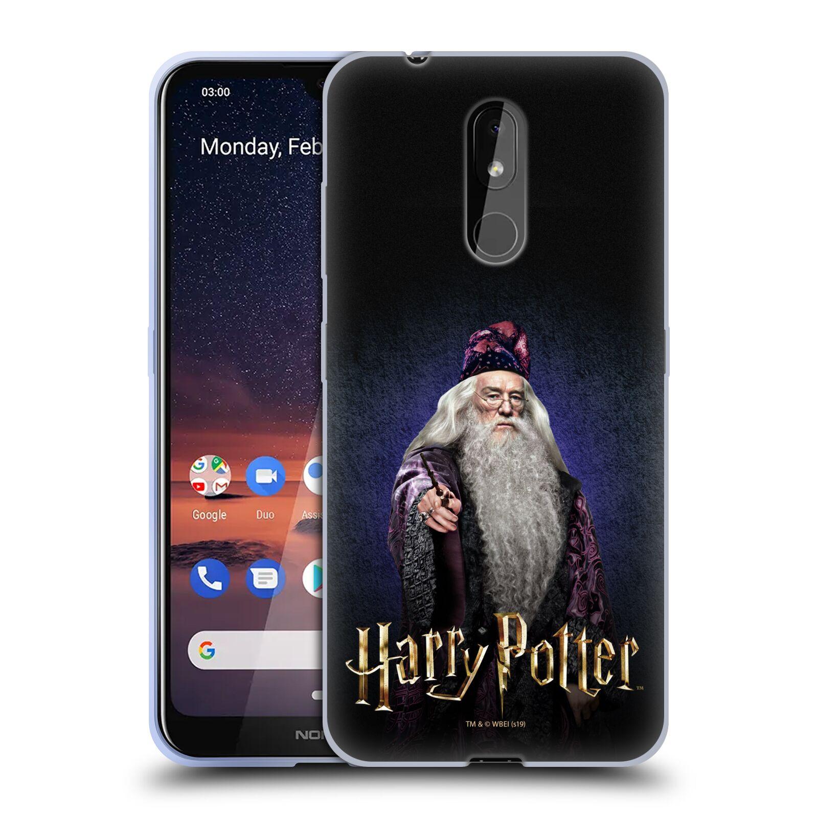 Silikonové pouzdro na mobil Nokia 3.2 - Harry Potter - Albus Brumbál
