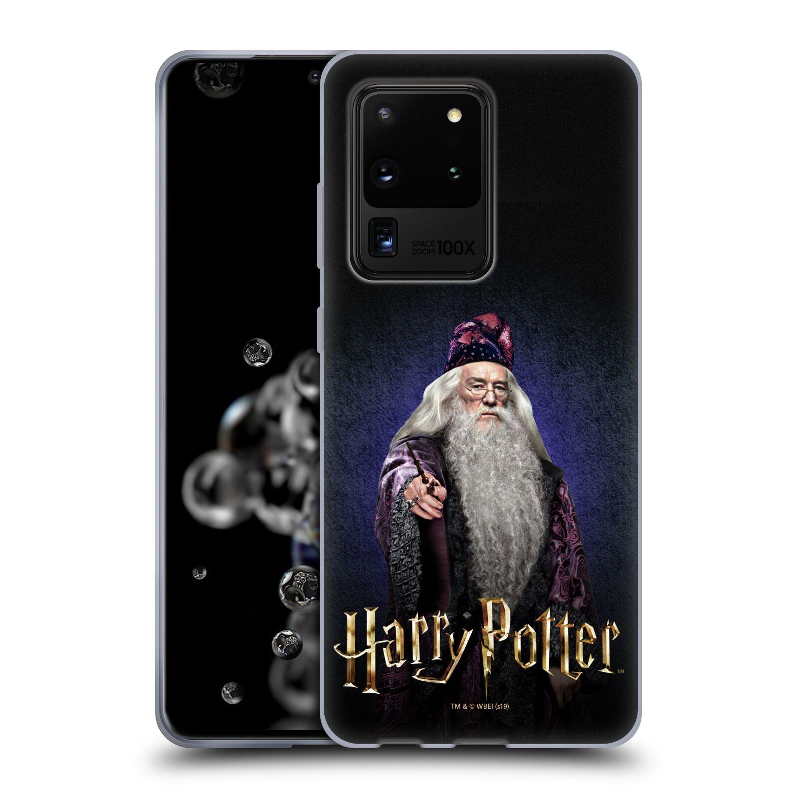 Silikonové pouzdro na mobil Samsung Galaxy S20 Ultra - Harry Potter - Albus Brumbál