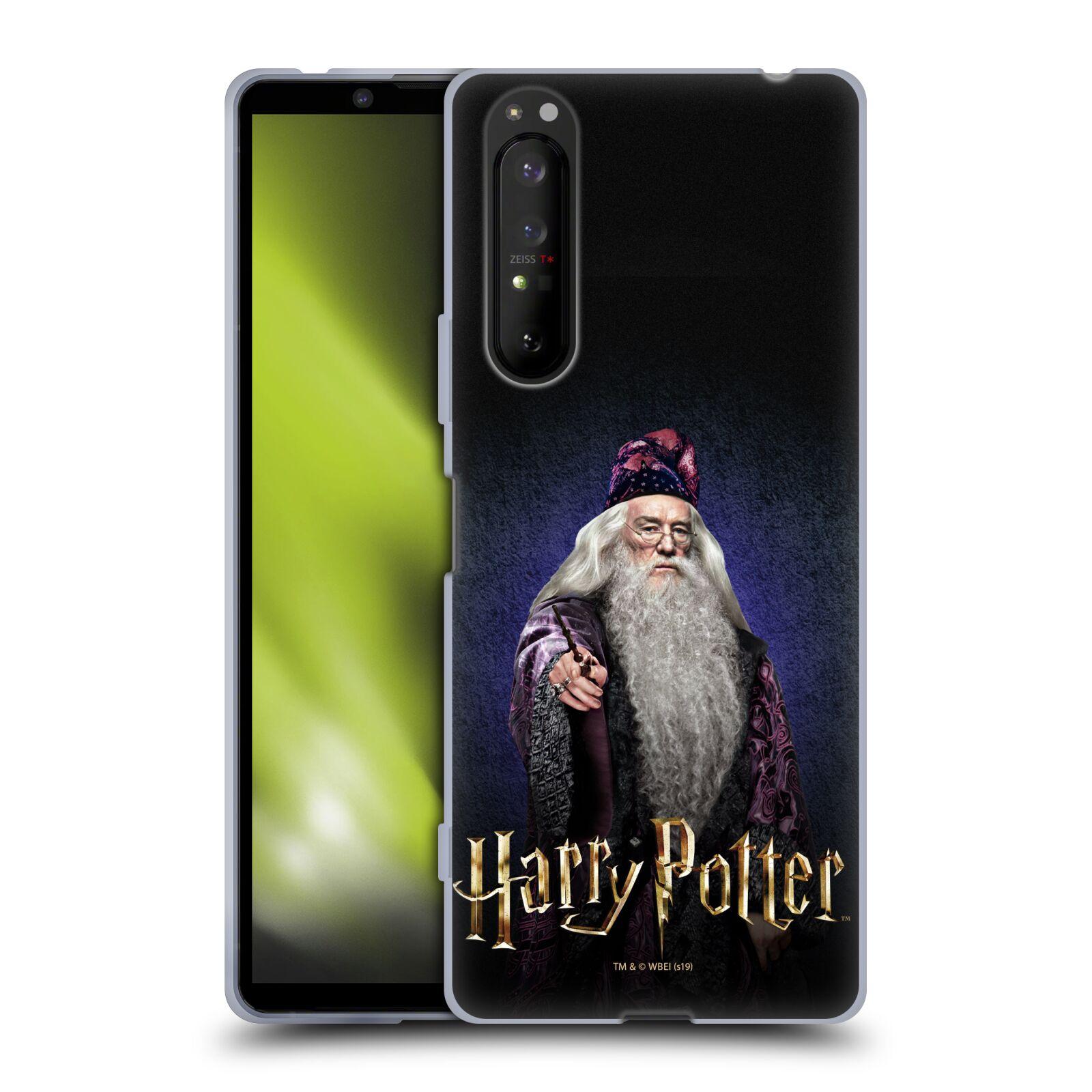 Silikonové pouzdro na mobil Sony Xperia 1 II - Harry Potter - Albus Brumbál