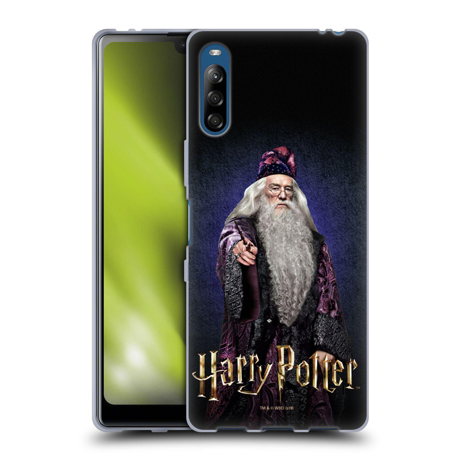 Silikonové pouzdro na mobil Sony Xperia L4 - Harry Potter - Albus Brumbál
